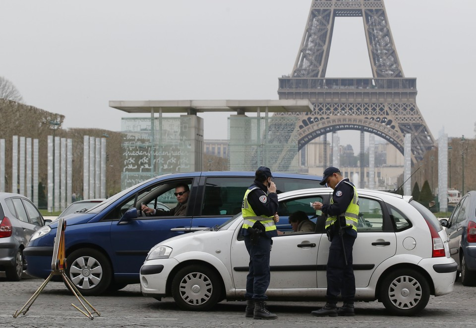 Is diesel doomed after the volkswagen scandal the atlantic on a smoggy day in paris police enforce an anti pollution measure temporarily banning cars with even numbered license plates michael euler ap publicscrutiny Image collections