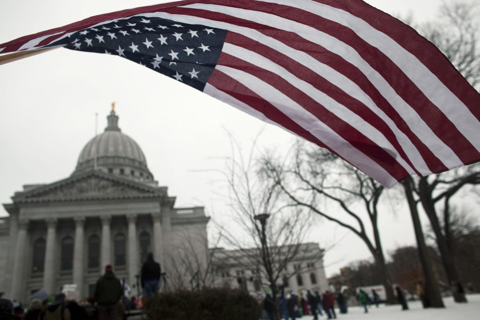 Wisconsin Republicans Consider Cracking Down on Campus Protests