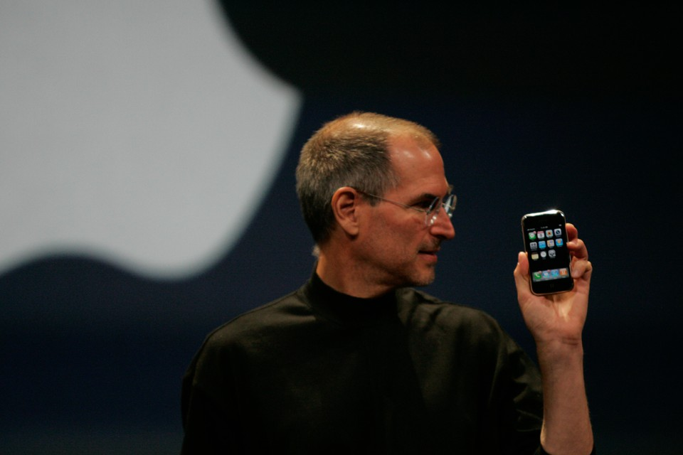 "In 2007, Apple's former CEO, Steve Jobs, unveiled what Reuters referred to at the time as an ""eagerly-anticipated iPod mobile phone with a touch-screen."""