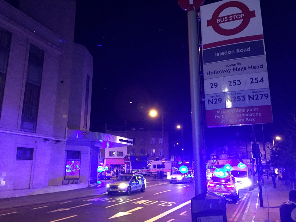 Another 'Major Incident' in London