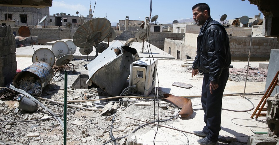 Report Confirms Use of Chemical Weapons in Syrian Attack ...
