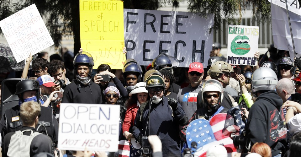 What Critics of Campus Protest Get Wrong About Free Speech   The Atlantic