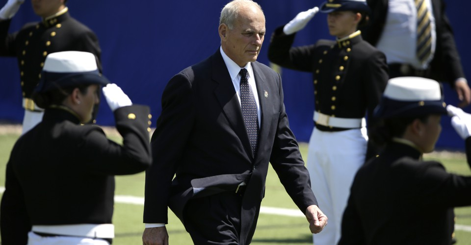 Why I Find Trump's Appointment of John Kelly Depressing