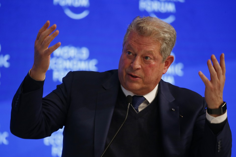 Image result for Al Gore hand in the air
