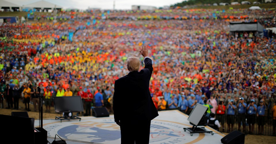 Trump's Revealing Mistake at the Boy Scout Jamboree