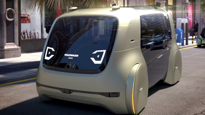 Vw S Concept Self Driving Car Sedric Volkswagen