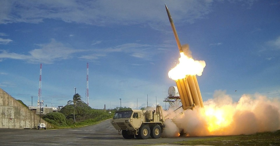 U.S. Shoots Down Target in THAAD Anti-Missile Test