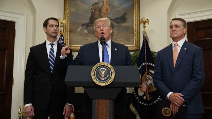 President Trump unveils legislation