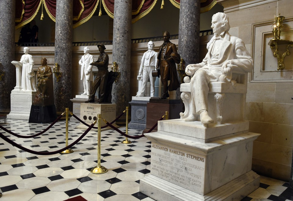 Why Are Confederate Statues Still Displayed In The Capitol