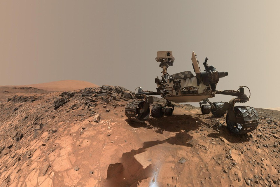 The Mars Curiosity rover