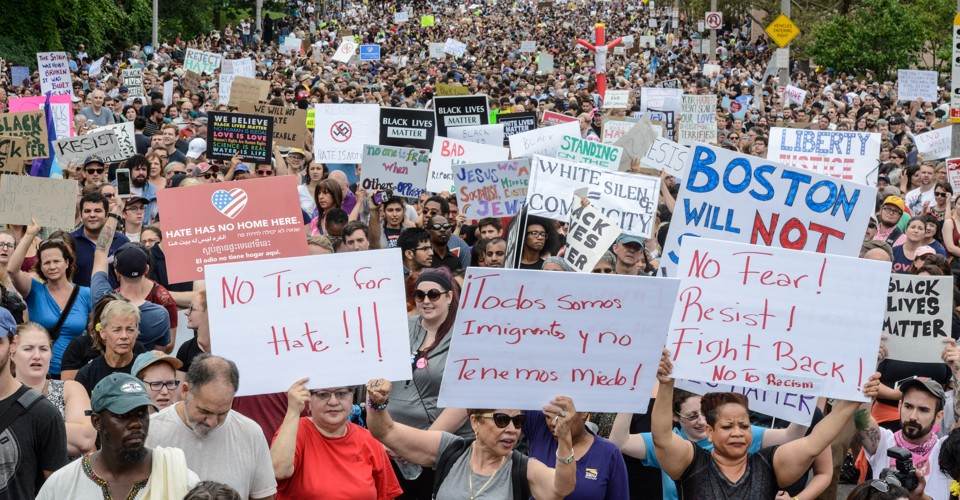The 'Alt-Right' Backlash Comes to Boston