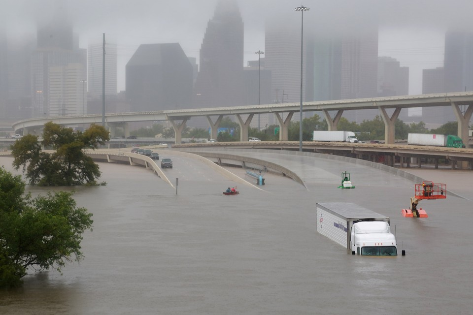 Hurricane Harvey intensified by Climate Change & Global Warming
