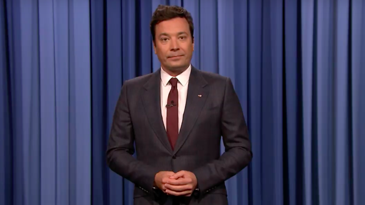 Jimmy Fallon delivered an emotional monologue on August 14