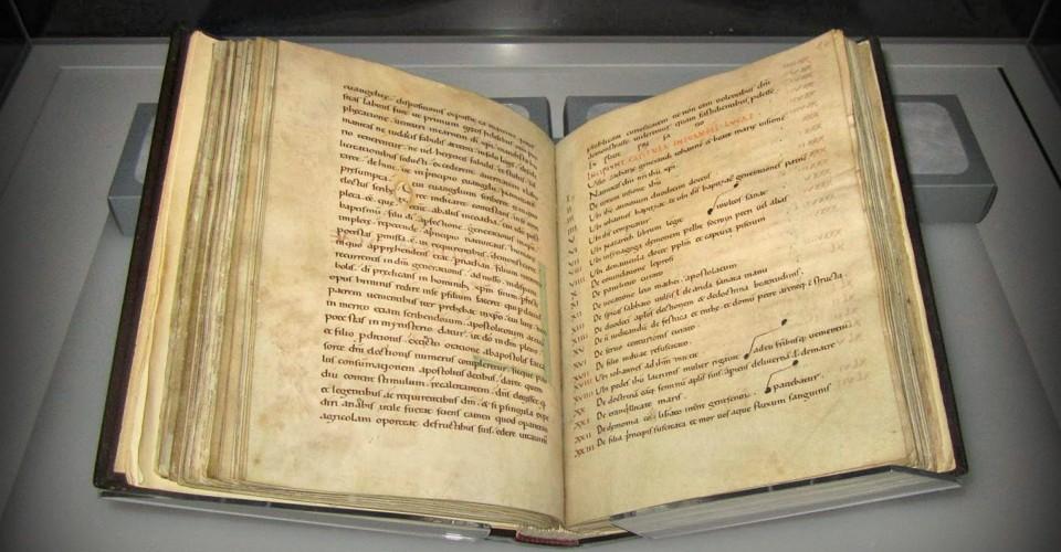 Sampling DNA From a 1,000-Year-Old Illuminated Manuscript