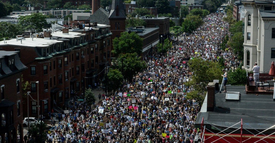 'Today, Boston Stood for Peace and Love'