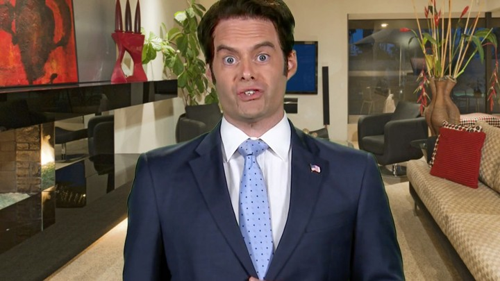 Bill Hader as Anthony Scaramucci on 'Saturday Night Live Weekend Update: Summer Edition'