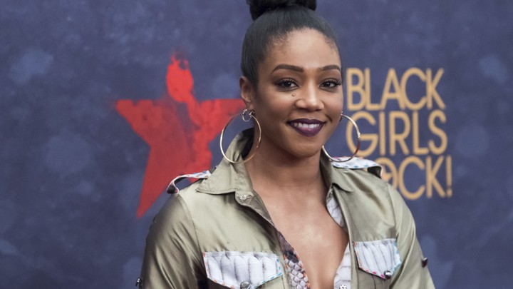 Tiffany Haddish attends the Black Girls Rock! Awards at the New Jersey Performing Arts Center