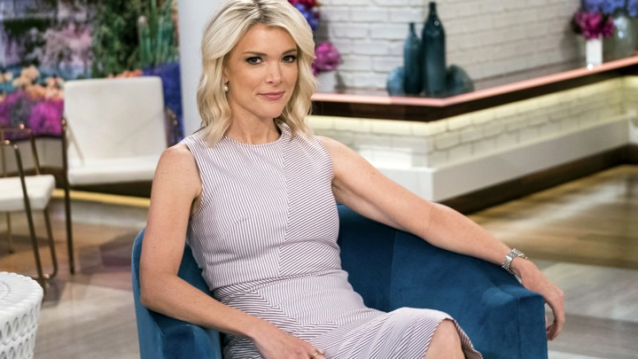 Megyn Kelly poses on the set of her new show 'Megyn Kelly Today.'