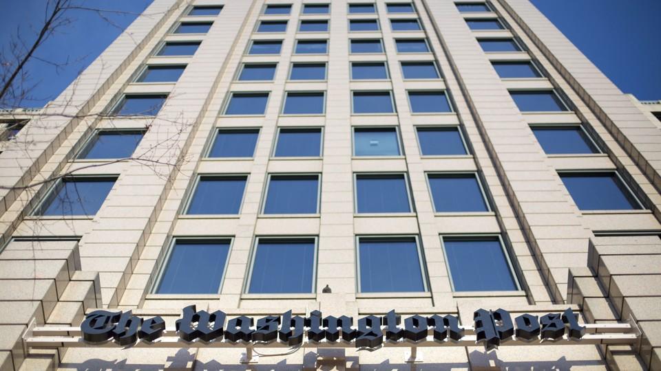 The 'Washington Post' offices