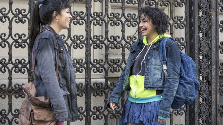 Abbi (Abbi Jacobson) and Ilana (Ilana Glazer) in the first episode of 'Broad City' Season 4