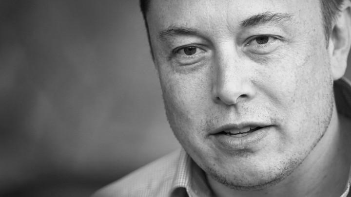 A portrait of Elon Musk