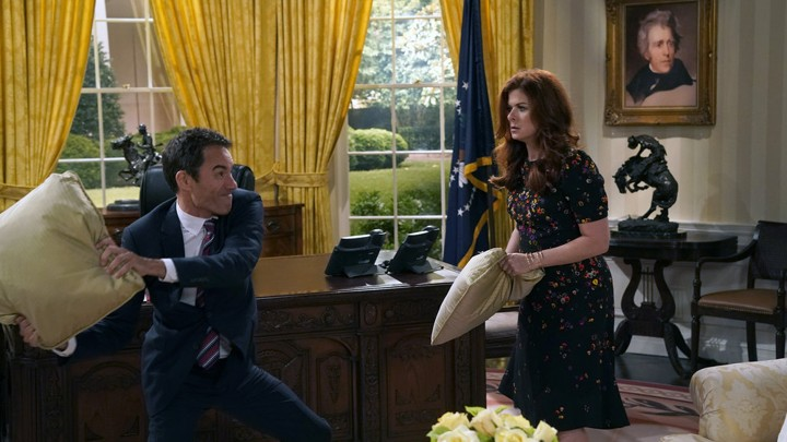 Will and Grace are about to have a pillow fight in Trump's White House.