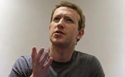 Mark Zuckerberg speaks.