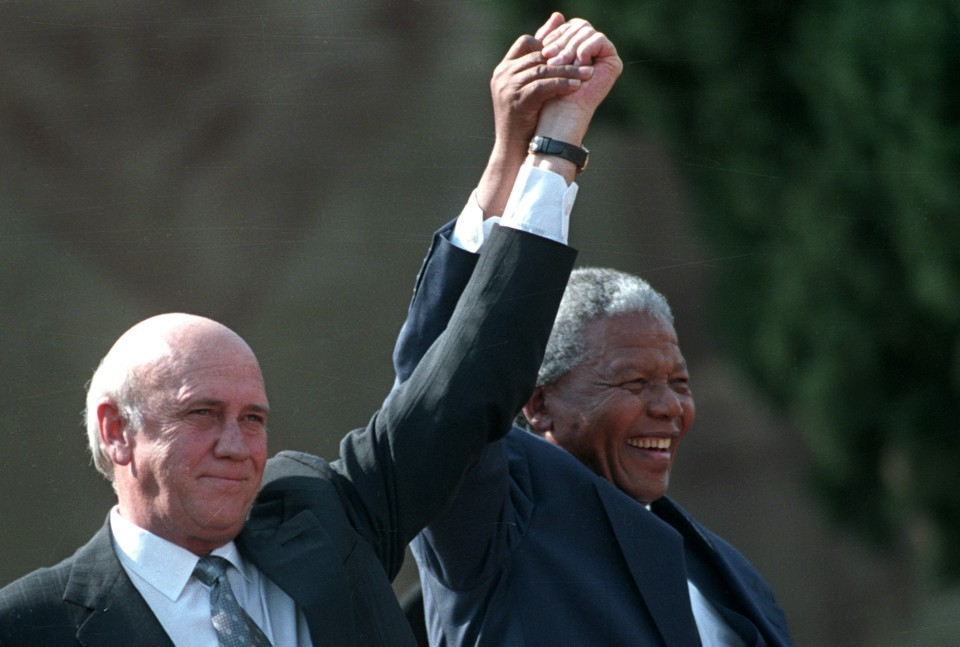 one up person why fw de klerk gave up south africas nuclear weapons the atlantic