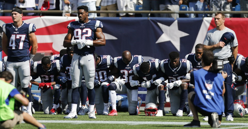 Kneeling for Life and Liberty Is Patriotic