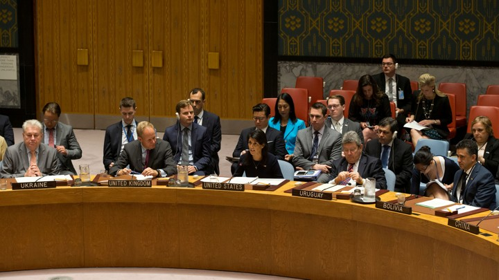 Members of the UN Security Council