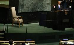 President Trump speaks at the UN