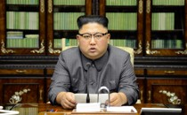 Kim Jong Un makes a statement
