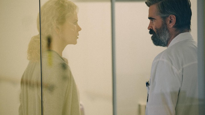 Nicole Kidman and Colin Farrell in a still from the upcoming film 'The Killing of a Sacred Deer'