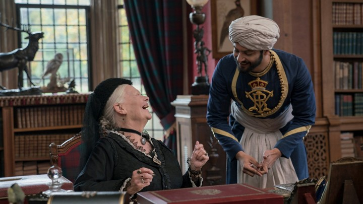 Judi Dench and Ali Fazal in 'Victoria & Abdul'