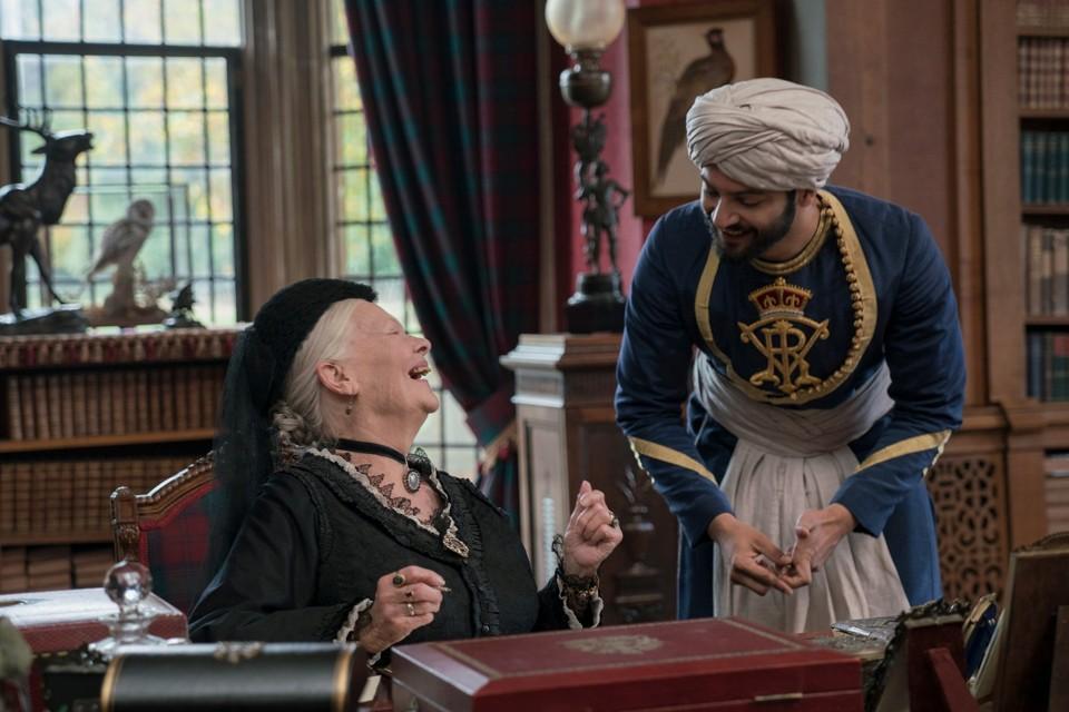 Judi Dench and Ali Fazal in 'Victoria & Abdul'