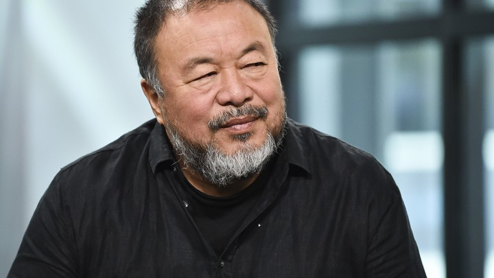 Chinese visual artist Ai Weiwei participates in the BUILD Speaker Series to discuss his film 'Human Flow'