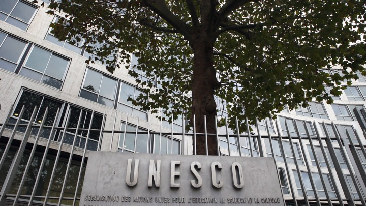 UNESCO's headquarters in Paris, France on October 17, 2016.