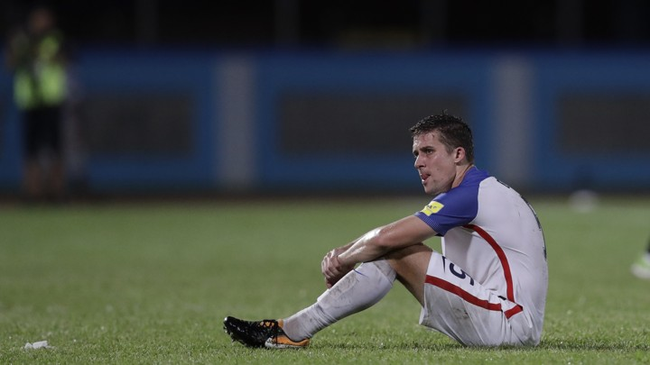 The U S S Matt Besler After He And His Teammates Lost To Trinidad And Tobago On Tuesday Nightrebecca Blackwell Ap