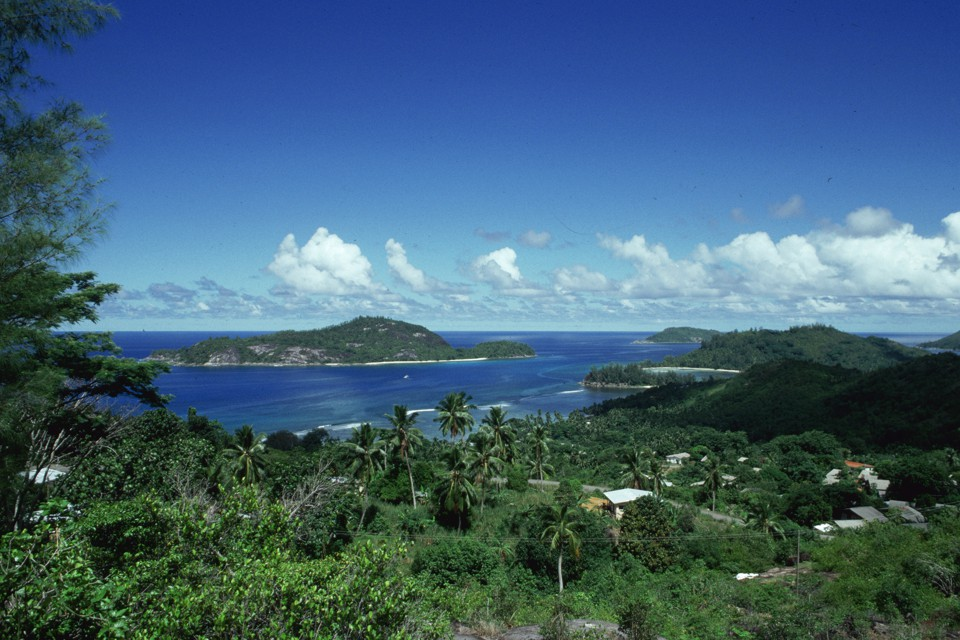 A general view of the Seychelles