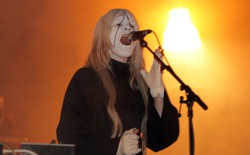 Fever Ray performs during the Coachella Valley Music & Art Festival in 2010.