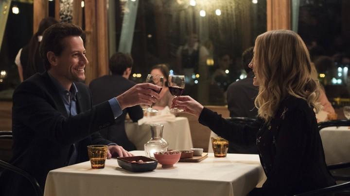 Andrew (Ioan Gruffudd) and Laura (Joanne Froggatt) in 'Liar'