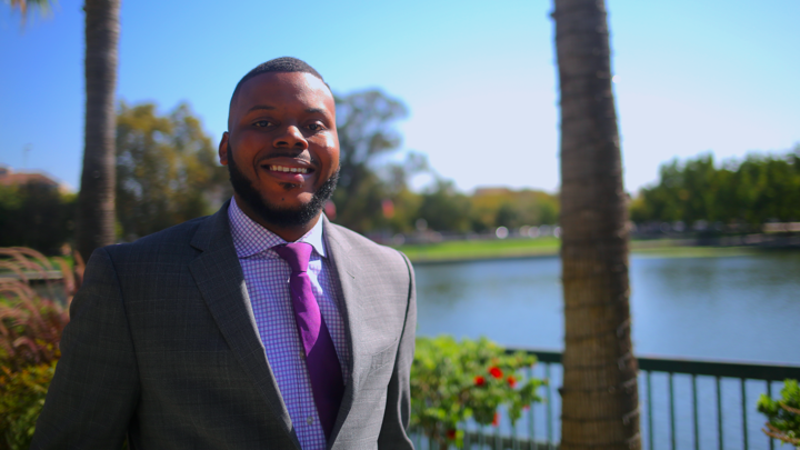 A portrait of Michael Tubbs, the mayor of Stockton, California