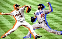 Justin Verlander and Clayton Kershaw