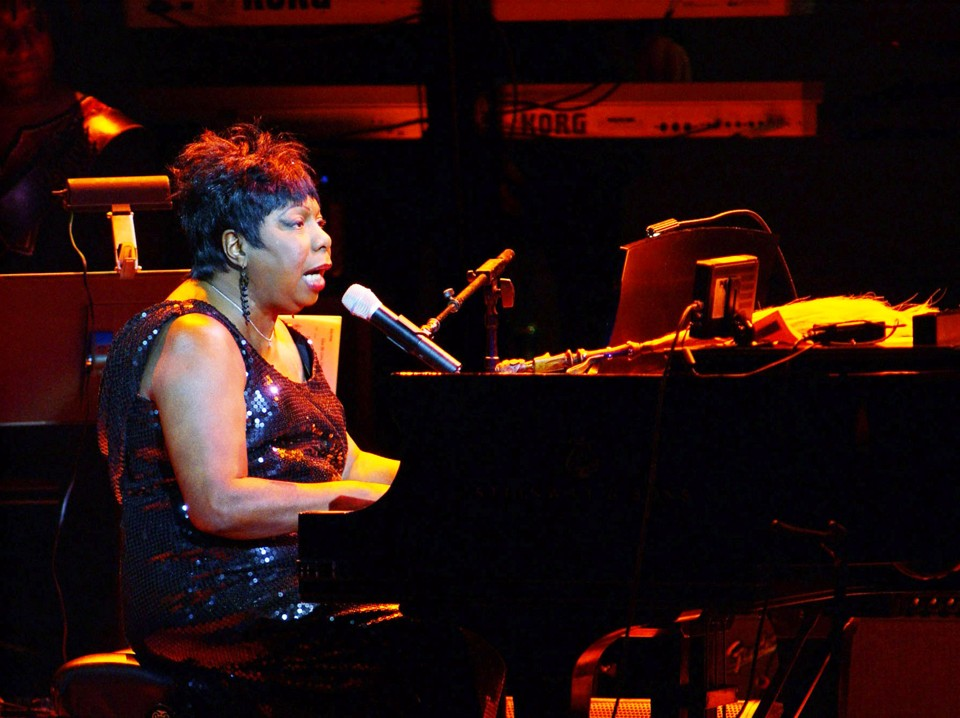 Nina Simone performs at Carnegie Hall in 2002.