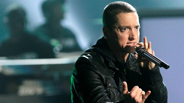 Eminem at the 2010 BET Awards