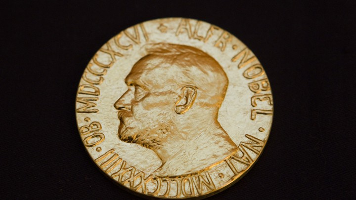 A Nobel Prize medal