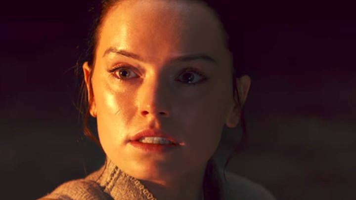 Daisy Ridley as Rey in 'The Last Jedi'