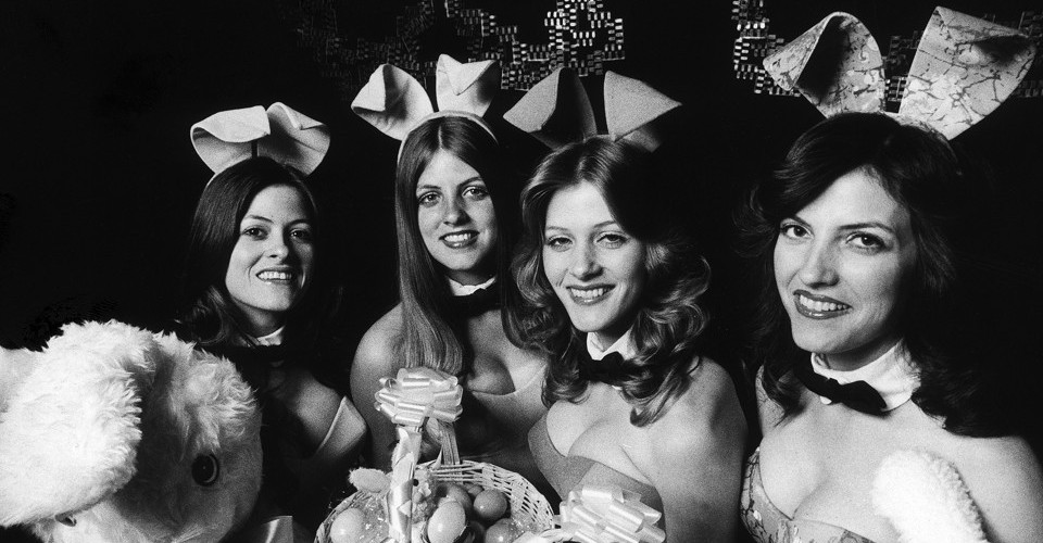b47032abb006 Down the Rabbit Hole  The Surprising Tale of the Bunny Suit. Like Hugh  Hefner himself