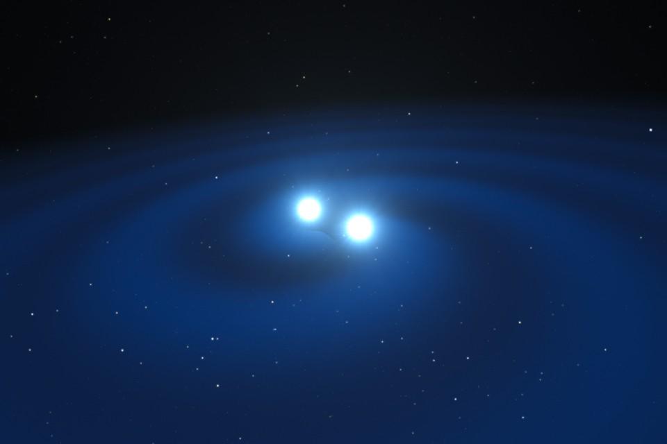 How to Illustrate Colliding Neutron Stars - The Atlantic