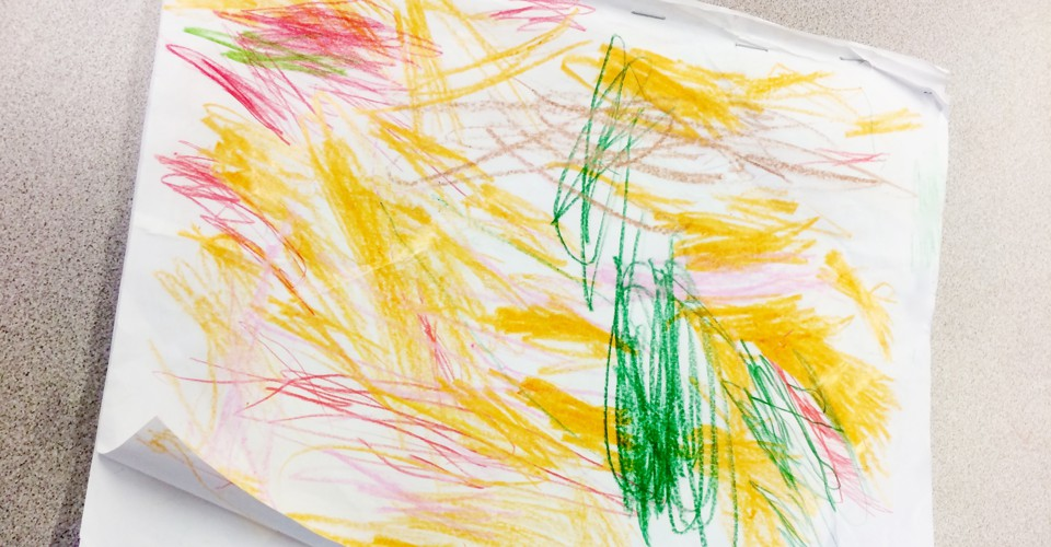 Straight Line Meaning In Art : The hidden meaning of kids shapes and scribbles
